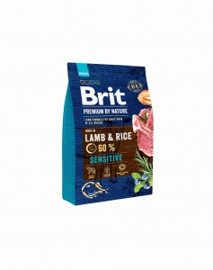 Brit Premium By Nature Sensitive Lamb & Rice 3 kg