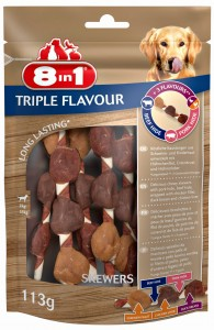 8in1 Triple Flavour Skewers 6 szt.