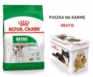 Royal Canin Mini Adult 2 kg + PUSZKA GRATIS