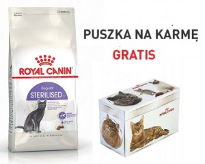 Royal Canin Sterilised 2 kg  + PUSZKA GRATIS