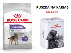 Royal Canin Mini sterilised 1 kg + PUSZKA GRATIS