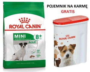 Royal Canin Mini Adult +8  2 kg + POJEMNIK GRATIS