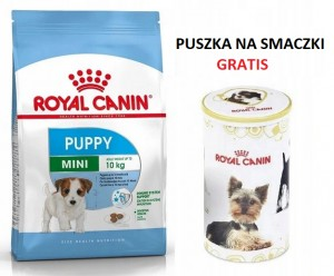 Royal Canin SHN Mini Puppy 2 kg + PUSZKA GRATIS