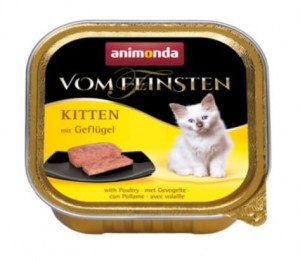 Animonda Vom Feinsten Kitten z drobiem 100g