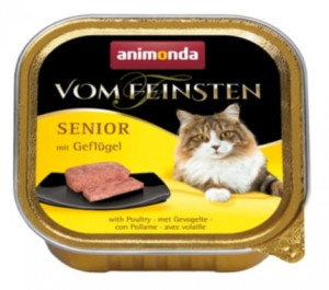 Animonda Vom Feinsten Senior z drobiem 100g
